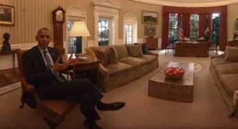 Ελάτε για μια σύντομη περιήγηση στο Λευκό Οίκο, μέσα από ένα νέο βίντεο 360 μοιρών!