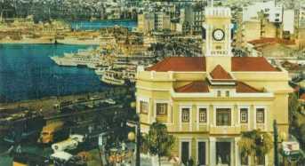 Το ιστορικό ρολόι του Πειραιά.