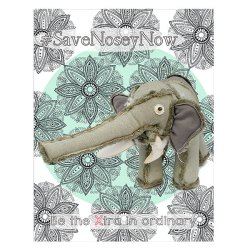 Color your way to Nosey the elephant freedom with this 2 page free coloring book
