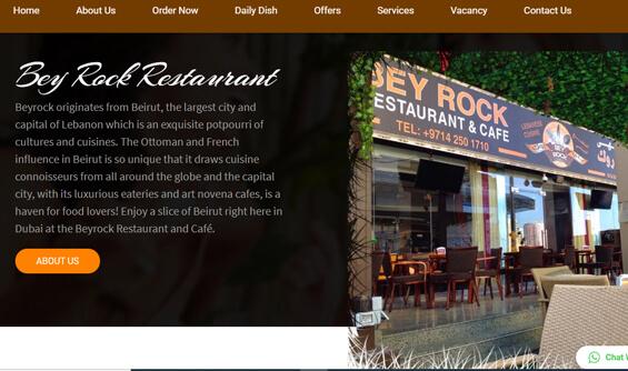 Lebanese Restaurant in Dubai