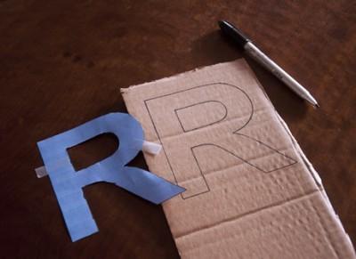 DIY Letras decorativas1