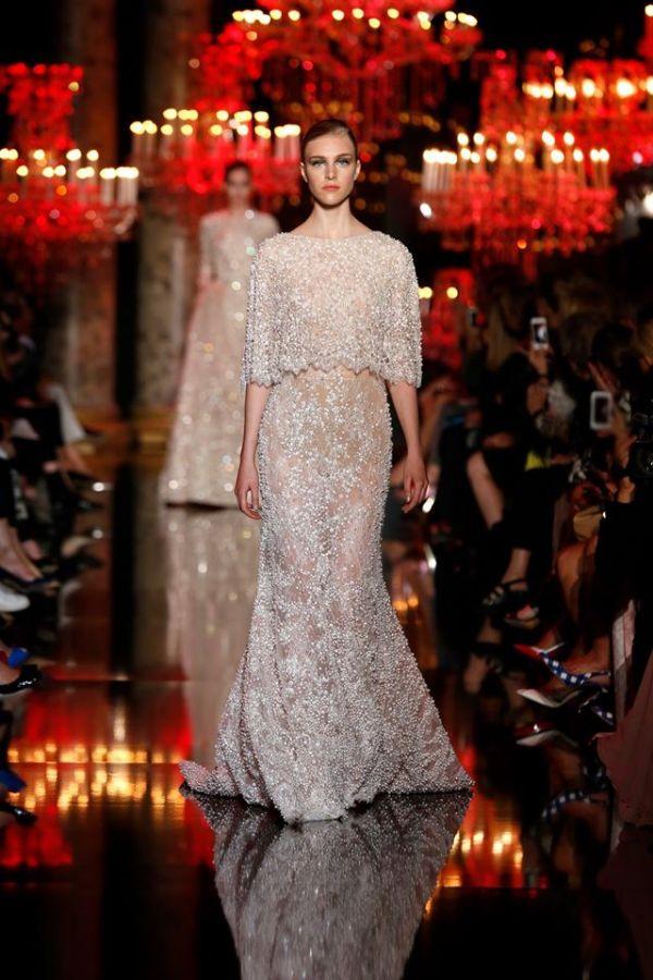Elie Saab White Dress