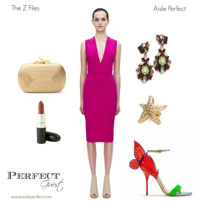 Perfect Wedding Guest Outfit The Z Files on Aisle Perfect