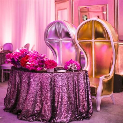Sequin Wedding Reception 2