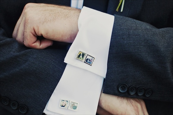 Photo Cufflinks to Honor Decesead Loved One