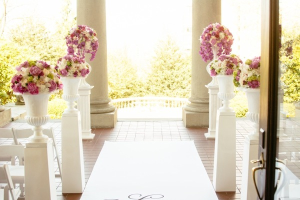 Pink Wedding at the Hycroft Mansion Will Pursell Photography 18