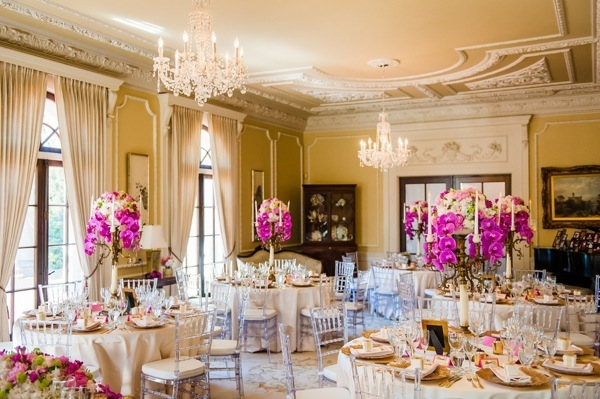 Pink Wedding at the Hycroft Mansion Will Pursell Photography 63