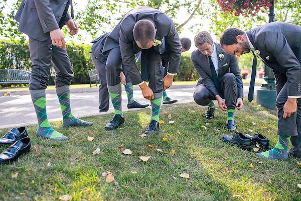 Groomsmen Socks- Image by Rick Collins