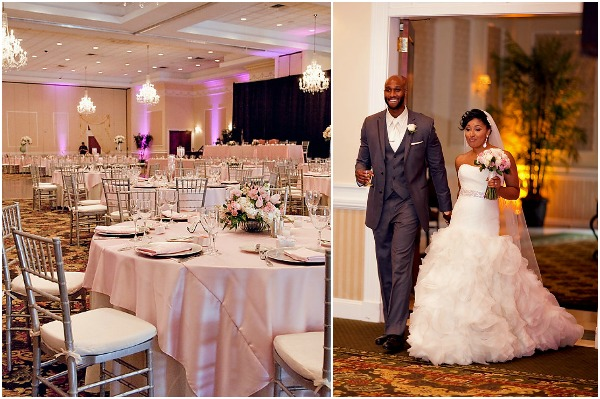 Pink and Silver Summer Wedding by ubaraphotography