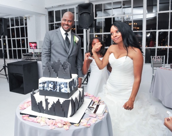Chic City Wedding at Studio 450 61