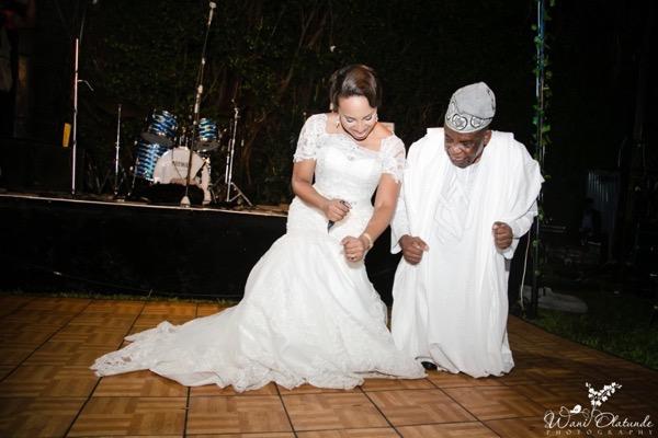 Outdoor Lagos Wedding by Wani Olatunde 49