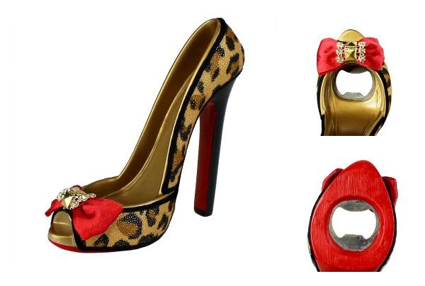 leopard shoe opener