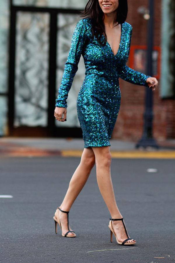 sequin dress for NYE