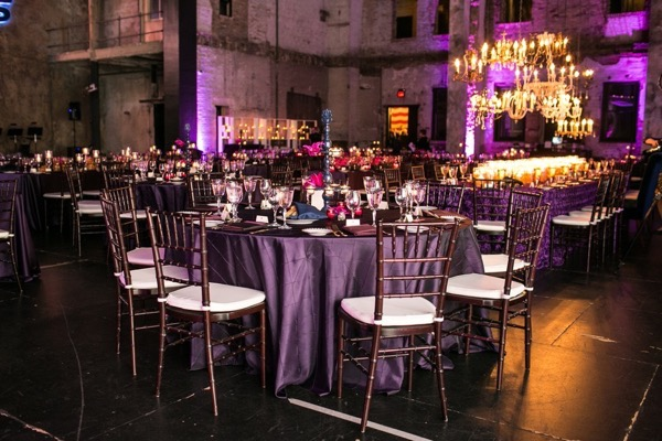 Sparkly Purple and Gold Wedding 57