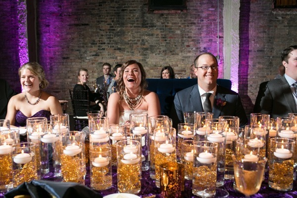 Sparkly Purple and Gold Wedding 59