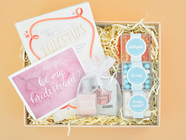 Bridesmaid Gift Set by Box Fox (buy here)
