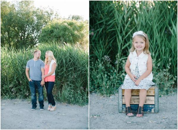 Adorable VW Bus Family Session