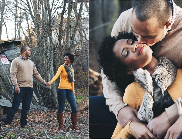 Fall engagement shoot by Time Frozen-