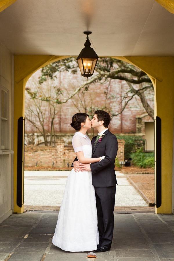 Historic Courtyard Wedding in Downtown Charleston 40