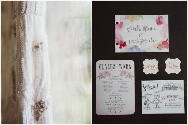 Elegant Garden Wedding of Ola and Mark