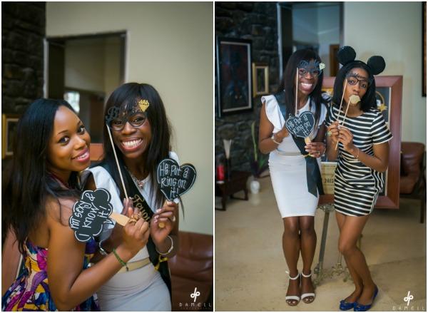 Feyi's Fun Black and Gold Bridal Shower