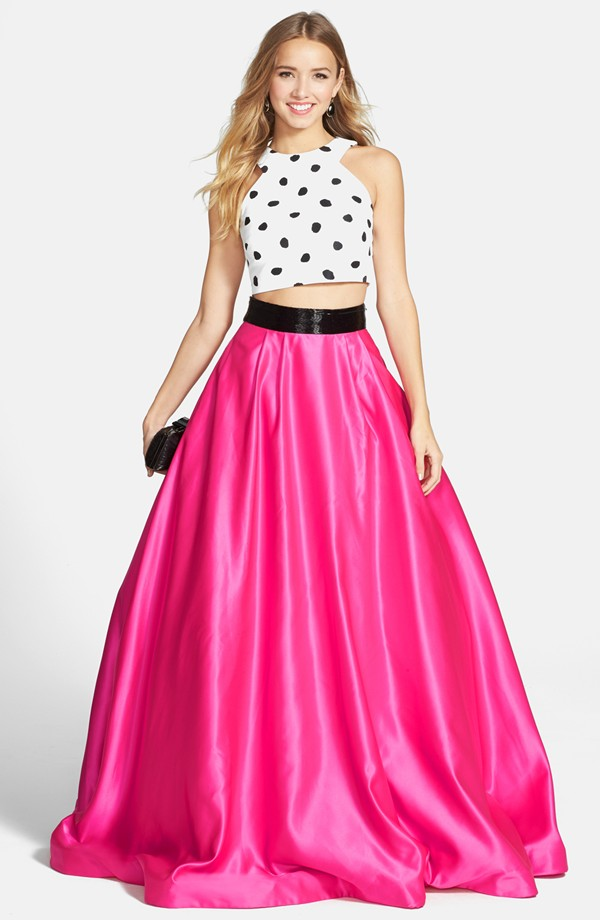 Sherri Hill Two-Piece Ballgown $518 at Nordstrom.
