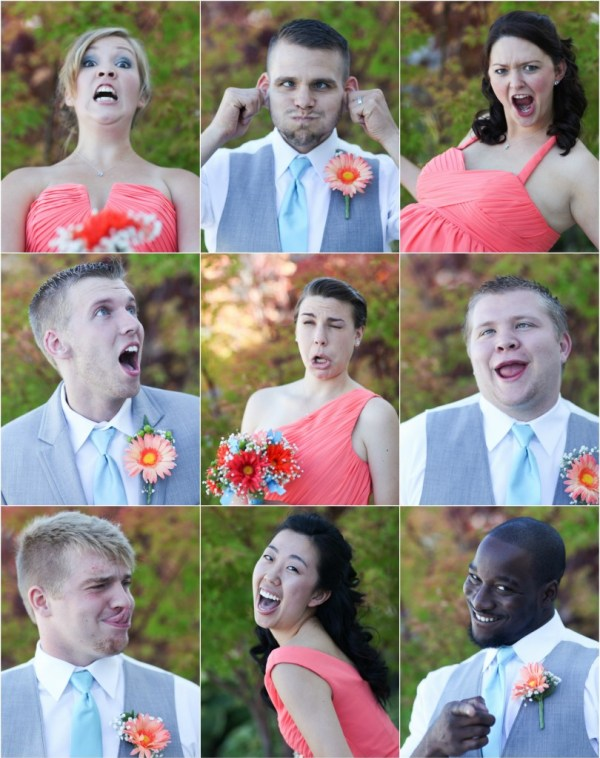 Funny Bridal Party Pictures