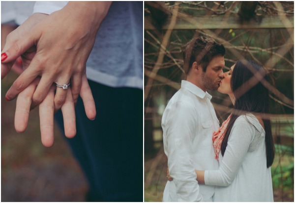Rose and Jared's engagement shoot