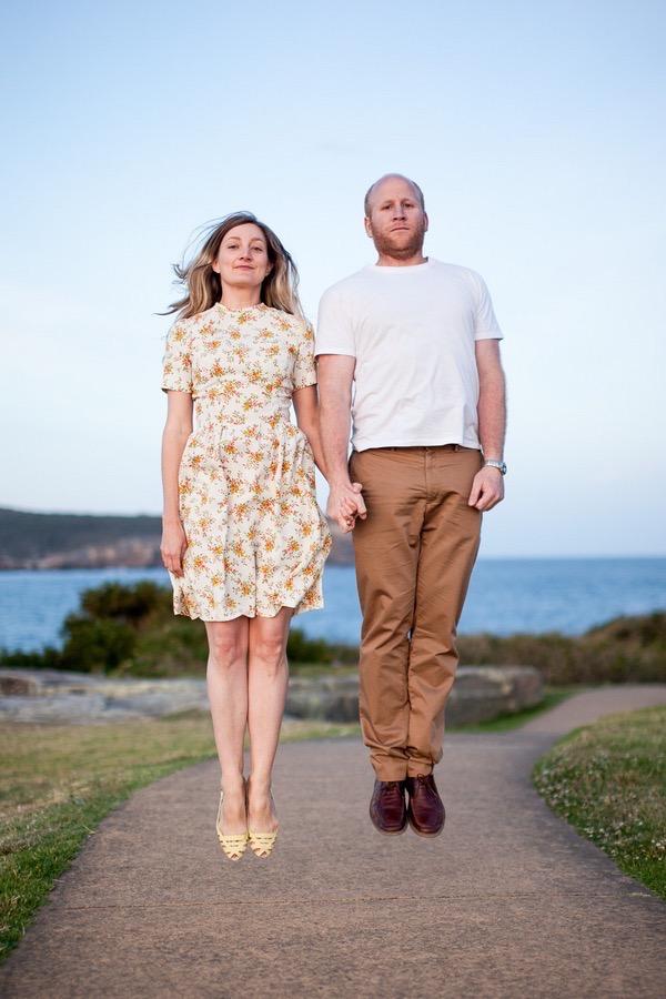 Sunny engagement shoot in sydney australia 15