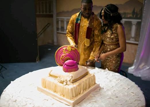 Nigerian wedding cake