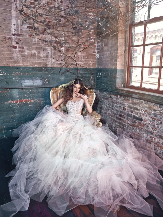 Galia Lahav Bridal Les Reves Bohemians Collection-Belle-Front