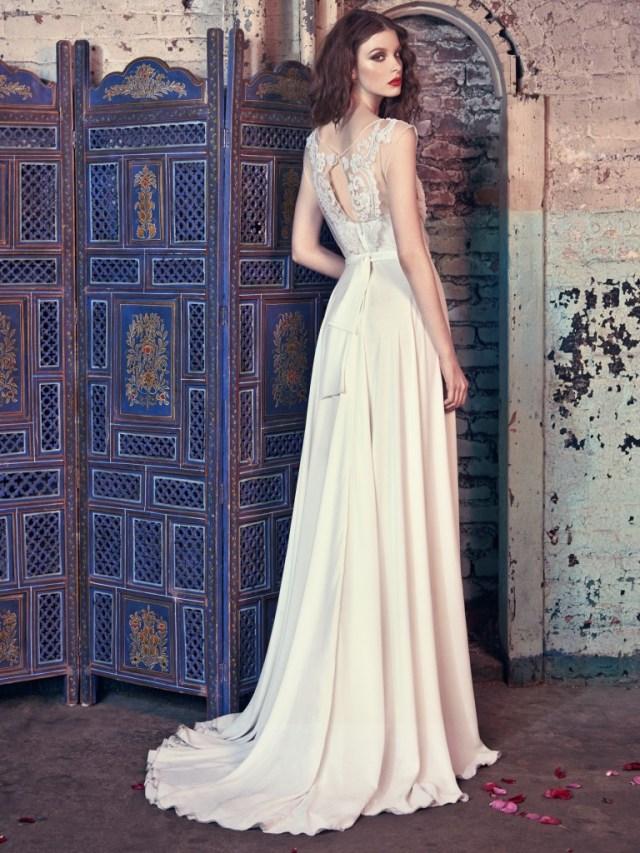 Galia Lahav Bridal Les Reves Bohemians Collection-Donna-Back