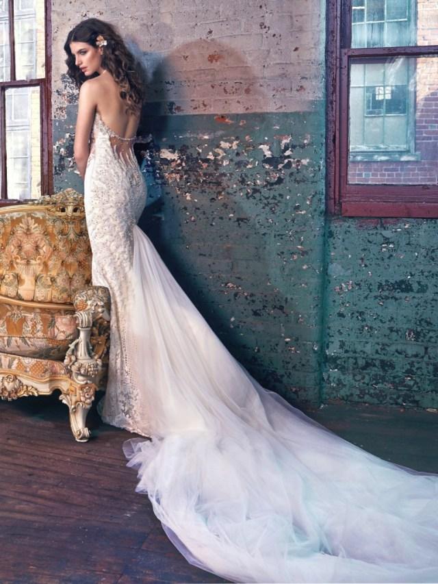 Galia Lahav Bridal Les Reves Bohemians Collection-Elsa-Back