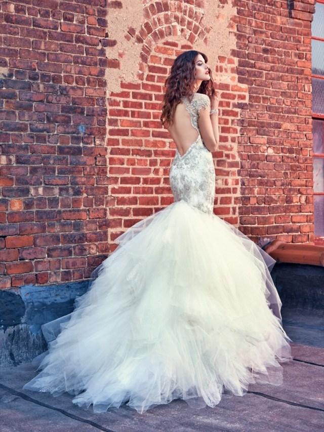 Galia Lahav Bridal Les Reves Bohemians Collection-Felicity-Back