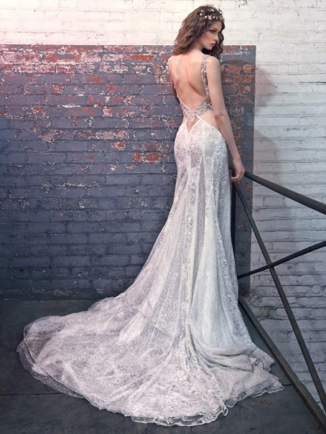 Galia Lahav Bridal Les Reves Bohemians Collection-Jade-Back