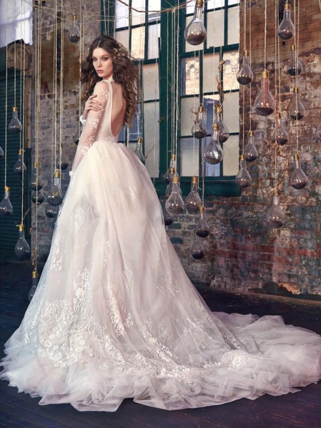 Galia Lahav Bridal Les Reves Bohemians Collection-Snow White-Back
