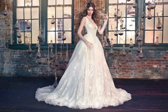 Galia Lahav Bridal Les Reves Bohemians Collection-Snow White-Front