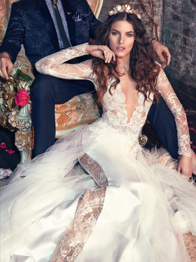 Galia Lahav Bridal Les Reves Bohemians Collection-Tiger Lily Zoom