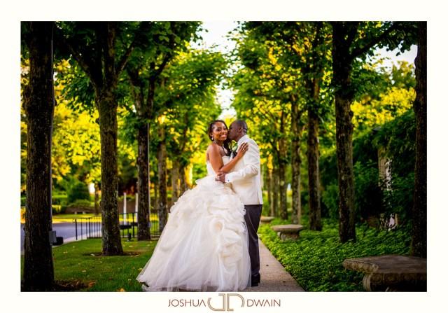 Nadine & Kindrick's Wedding at NYIT de Seversky Mansion in Old Westbury, NY
