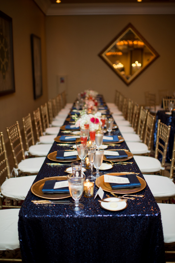 Blue and gold wedding at the casa monica hotel 119