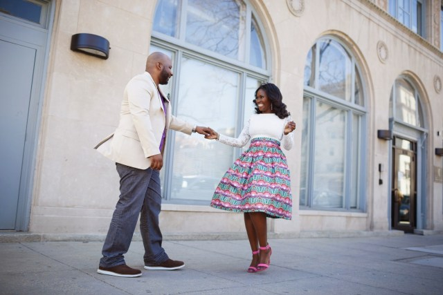 Spring Engagement Shoot in DC 93