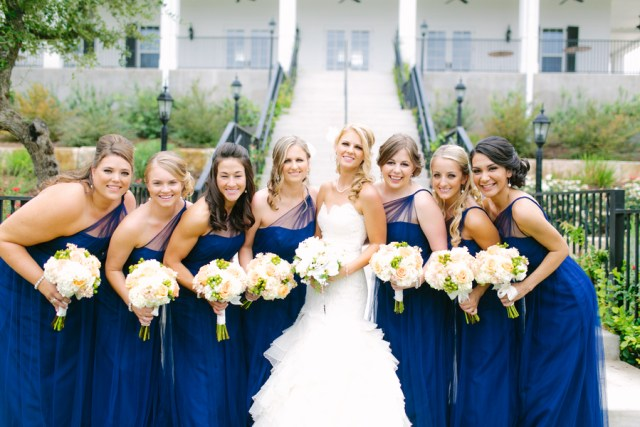 blue and yellow wedding at the Kendall Plantation 19