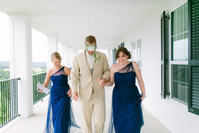 blue and yellow wedding at the Kendall Plantation 26