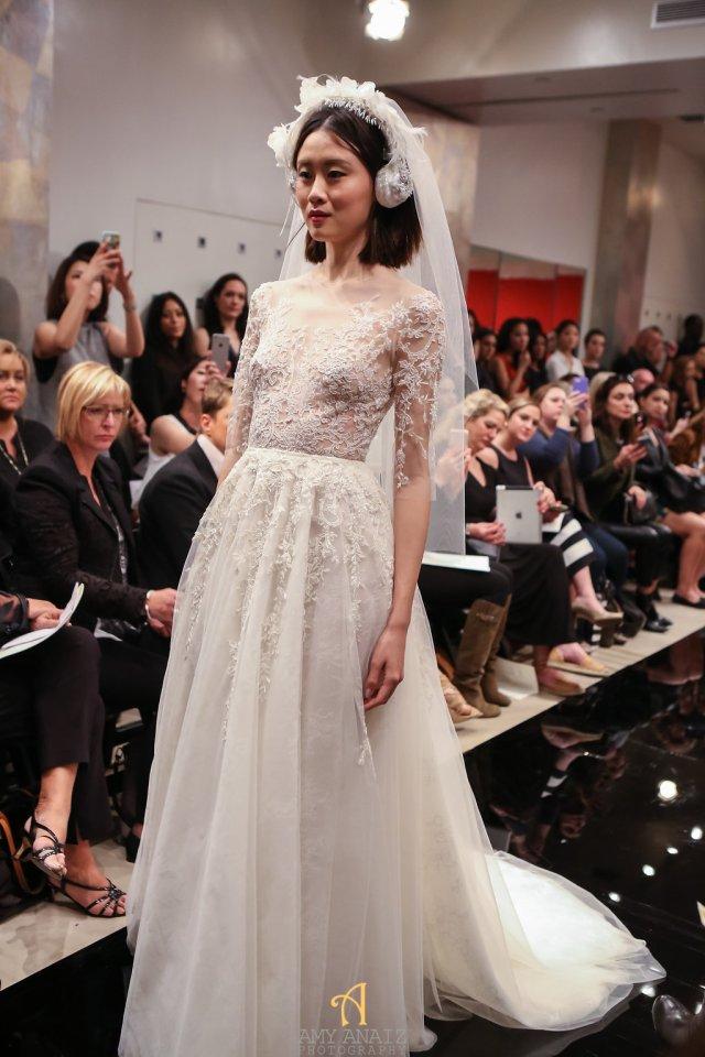Reem Acra Fall 2016 Bridal Fashion Week 15