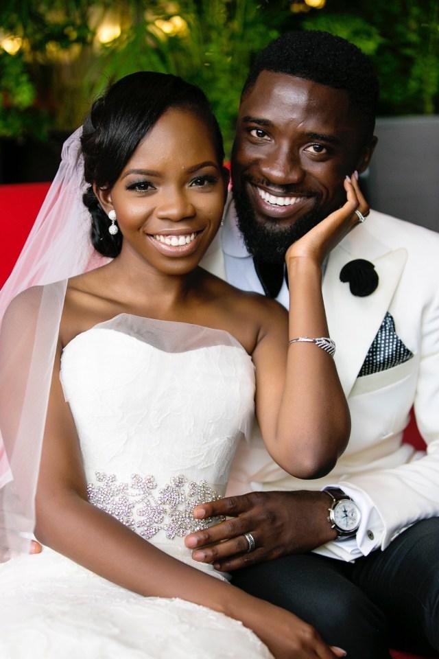 Slam2014 - Segi and Olamide Adedeji's Wedding in Ruby Gardens Nigeria 140