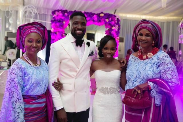 Slam2014 - Segi and Olamide Adedeji's Wedding in Ruby Gardens Nigeria 174