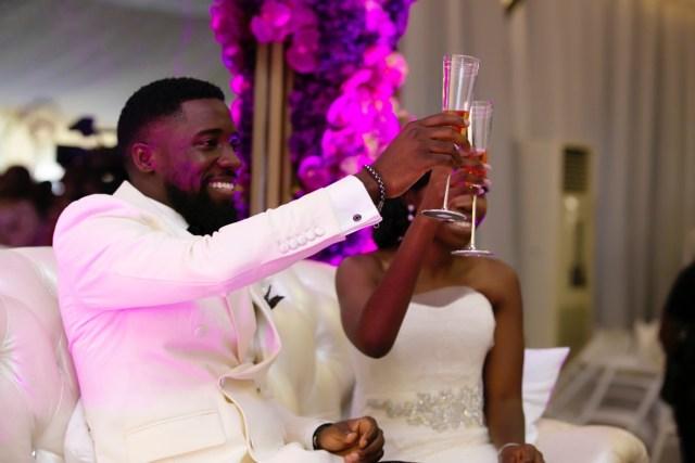 Slam2014 - Segi and Olamide Adedeji's Wedding in Ruby Gardens Nigeria 195