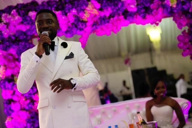Slam2014 - Segi and Olamide Adedeji's Wedding in Ruby Gardens Nigeria 203