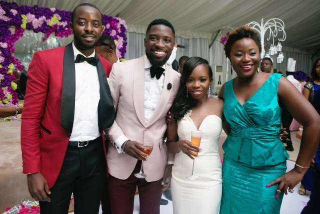 Slam2014 - Segi and Olamide Adedeji's Wedding in Ruby Gardens Nigeria 247