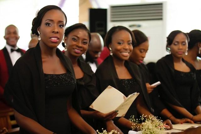 Slam2014 - Segi and Olamide Adedeji's Wedding in Ruby Gardens Nigeria 68